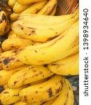 fresh banana for good health | Shutterstock . vector #1398934640
