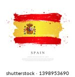 flag of spain. vector... | Shutterstock .eps vector #1398953690