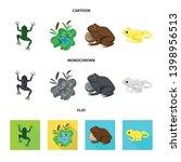 vector design of wildlife and... | Shutterstock .eps vector #1398956513