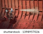 washing and cleaning  close up...   Shutterstock . vector #1398957026