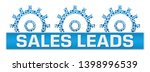 sales leads concept image with... | Shutterstock . vector #1398996539