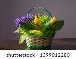Yellow Tulips And Irises...