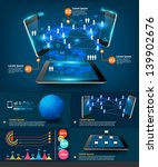 modern infographics business... | Shutterstock .eps vector #139902676