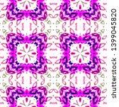 tibetan fabric. seamless tie... | Shutterstock . vector #1399045820
