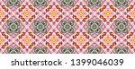 tibetan fabric. abstract ikat... | Shutterstock . vector #1399046039