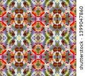 tibetan fabric. seamless tie... | Shutterstock . vector #1399047860