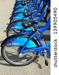 new york   may 26  citi bike... | Shutterstock . vector #139905490