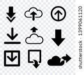 download arrows vector icons... | Shutterstock .eps vector #1399061120