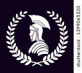 roman centurion icon in laurel... | Shutterstock . vector #1399065320