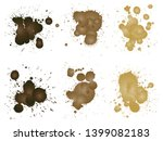 vector collection of artistic... | Shutterstock .eps vector #1399082183