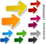 vector illustration of sticky... | Shutterstock .eps vector #139909048