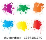 collection of artistic grungy... | Shutterstock . vector #1399101140