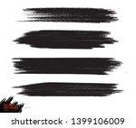 vector grunge black paint  ink... | Shutterstock .eps vector #1399106009