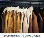 multicolored leather jackets... | Shutterstock . vector #1399107386
