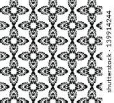 vector floral pattern | Shutterstock .eps vector #139914244