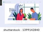 medical tests template   blood... | Shutterstock .eps vector #1399142840