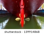 Close Up Of A Ship Propeller I...