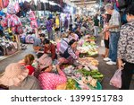 The Fish And Vegetable Market...