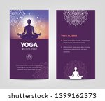 wellness and yoga studio... | Shutterstock .eps vector #1399162373