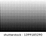 halftone dots background.black... | Shutterstock .eps vector #1399185290