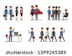 business concept. set of...   Shutterstock .eps vector #1399245389