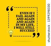 inspirational motivational... | Shutterstock . vector #1399298330