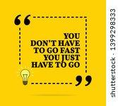 inspirational motivational... | Shutterstock . vector #1399298333