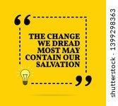 inspirational motivational... | Shutterstock . vector #1399298363