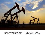 oil pumps. oil industry... | Shutterstock . vector #139931269
