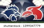 tottenham hotspur vs. liverpool ... | Shutterstock .eps vector #1399347779