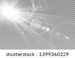 special lens flash  light... | Shutterstock .eps vector #1399360229