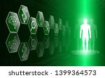 abstract background technology...   Shutterstock .eps vector #1399364573