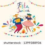 beautiful vector illustration... | Shutterstock .eps vector #1399388936