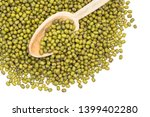 Mung beans spread out from...