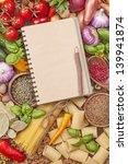 assortment of fresh vegetables... | Shutterstock . vector #139941874