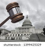 congress and law as... | Shutterstock . vector #1399425329