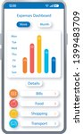 expenses dashboard smartphone...