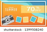 tropical and summer time... | Shutterstock .eps vector #1399508240