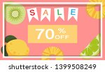tropical and summer time... | Shutterstock .eps vector #1399508249