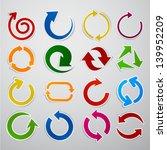 vector illustration of sticky... | Shutterstock .eps vector #139952209