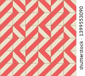 geometric seamless pattern with ... | Shutterstock .eps vector #1399553090