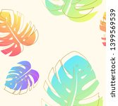 colorful summer seamless... | Shutterstock .eps vector #1399569539