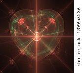 Fractal Glowing Heart