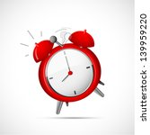 Alarm clock cartoon