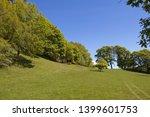 a view of parkland deciduous... | Shutterstock . vector #1399601753
