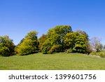 a view of parkland deciduous... | Shutterstock . vector #1399601756