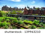 high line. urban public park on ... | Shutterstock . vector #139963210