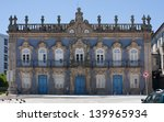 the facade of raio palace in... | Shutterstock . vector #139965934
