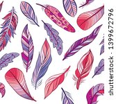 seamless pattern of colorful... | Shutterstock .eps vector #1399672796