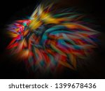abstract art screensaver.... | Shutterstock . vector #1399678436